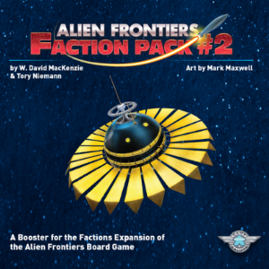 Alien Frontiers (2nd Edition) : Faction Pack 2
